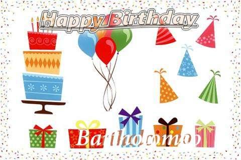 Happy Birthday Wishes for Bartholomeo