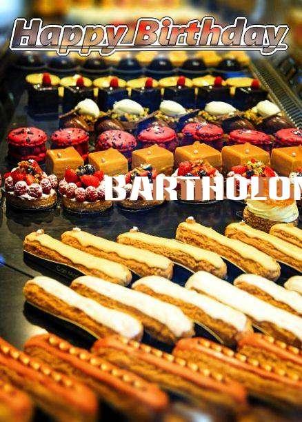 Happy Birthday Bartholomeus