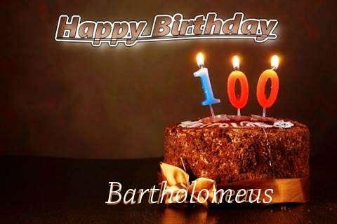 Bartholomeus Birthday Celebration