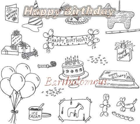 Happy Birthday Cake for Bartholomeus