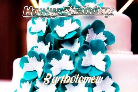 Birthday Wishes with Images of Bartholomew