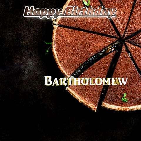Birthday Images for Bartholomew