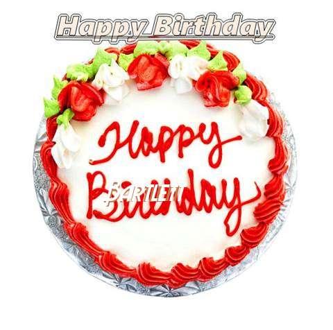 Happy Birthday Cake for Bartlett