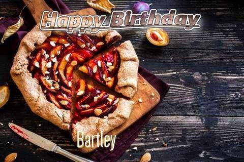 Happy Birthday Bartley Cake Image