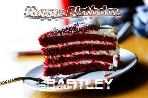 Happy Birthday Cake for Bartley