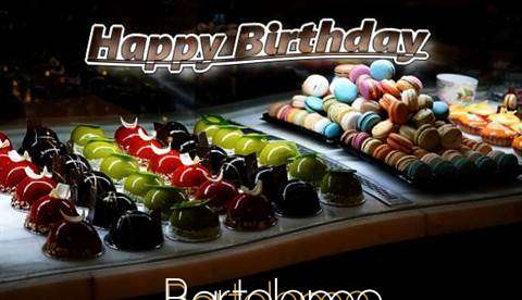 Happy Birthday Cake for Bartolemo