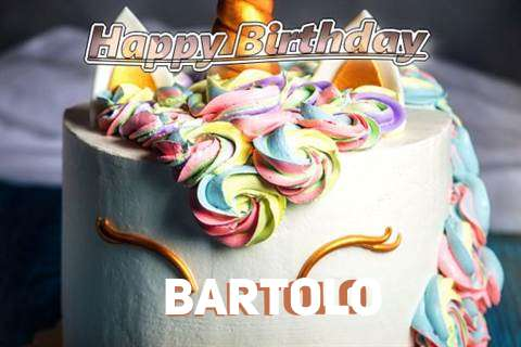 Birthday Wishes with Images of Bartolo