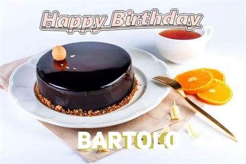 Happy Birthday to You Bartolo