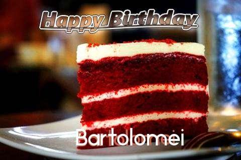 Happy Birthday Bartolomei