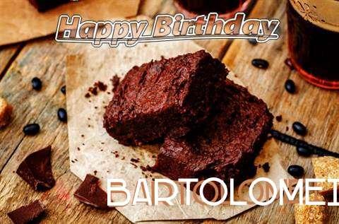 Happy Birthday Bartolomei Cake Image