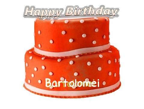 Happy Birthday Cake for Bartolomei