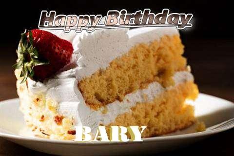 Happy Birthday Bary