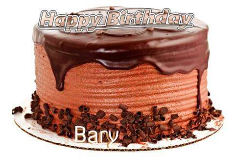 Happy Birthday Wishes for Bary