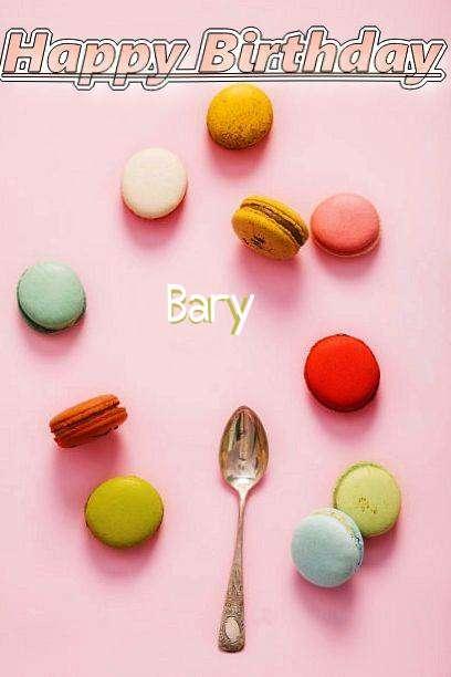 Happy Birthday Cake for Bary