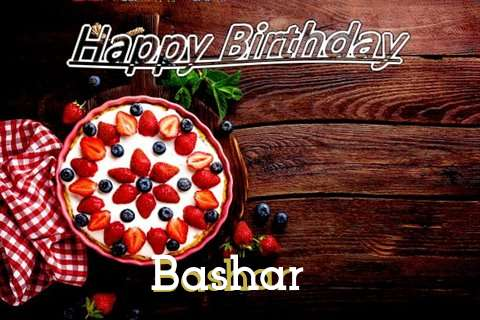 Happy Birthday Bashar Cake Image