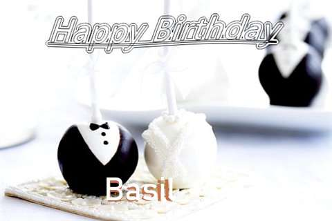 Happy Birthday Basil