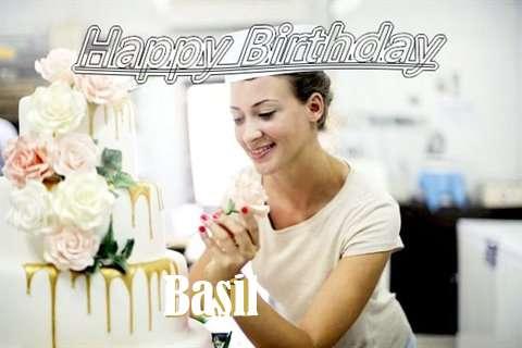 Basil Birthday Celebration