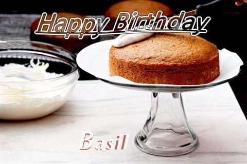 Happy Birthday to You Basil
