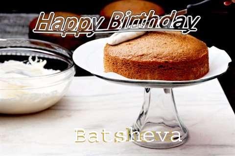Happy Birthday to You Batsheva