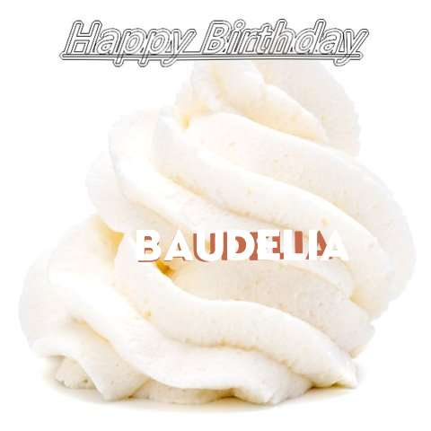 Happy Birthday Wishes for Baudelia