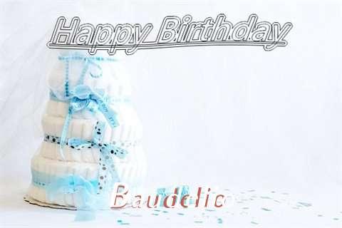 Happy Birthday Baudelio Cake Image