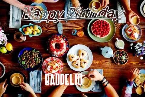 Happy Birthday to You Baudelio