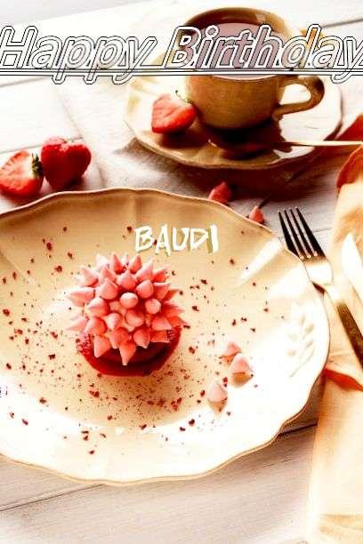 Happy Birthday Baudi