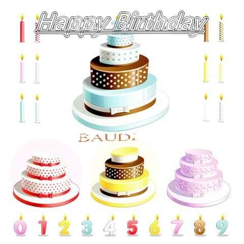 Happy Birthday Wishes for Baudi