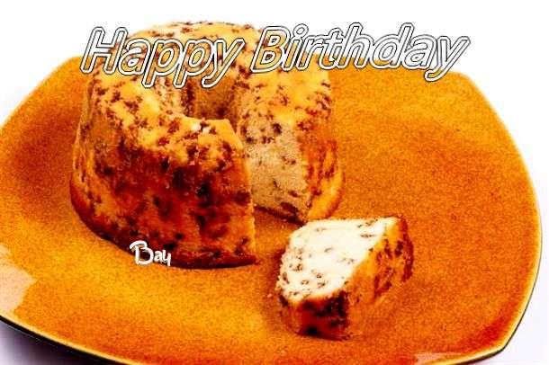 Happy Birthday Cake for Bay