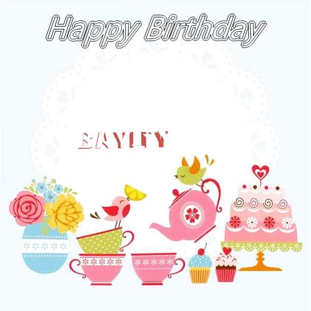 Happy Birthday Wishes for Bayley
