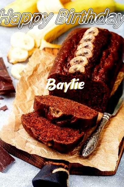 Happy Birthday Cake for Baylie