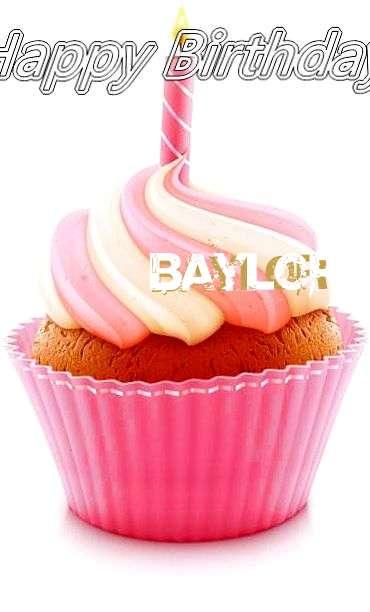 Happy Birthday Cake for Baylor
