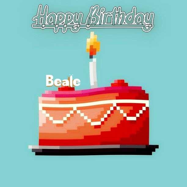 Happy Birthday Beale Cake Image