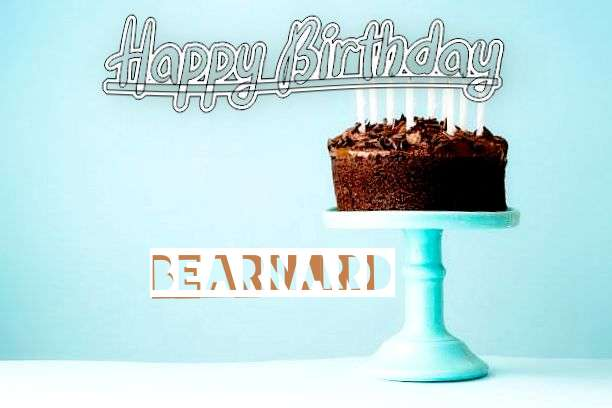 Happy Birthday Cake for Bearnard