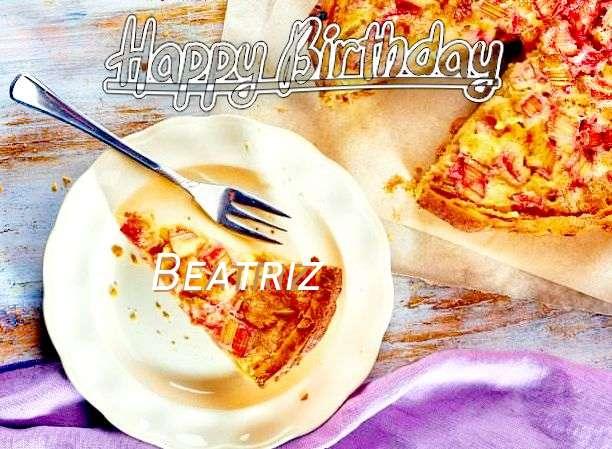 Happy Birthday to You Beatriz