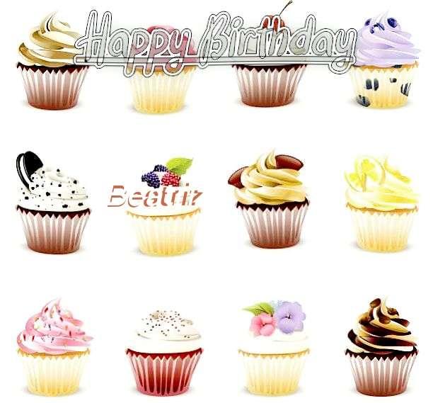 Happy Birthday Cake for Beatriz