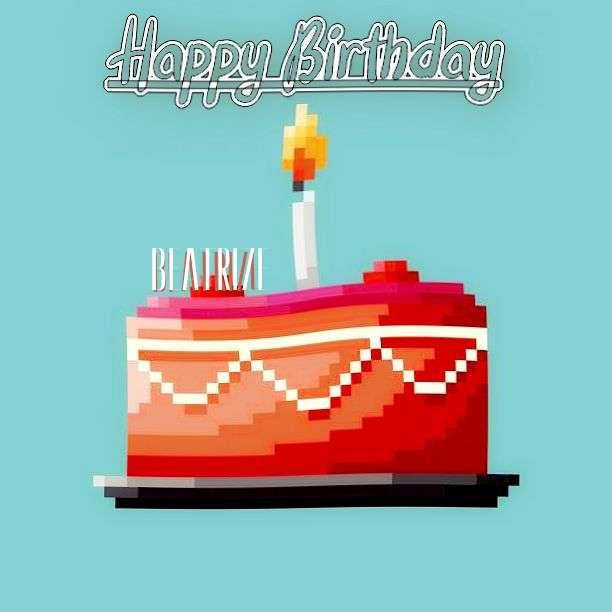 Happy Birthday Beatrize Cake Image