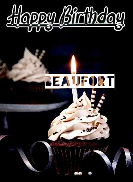 Happy Birthday Cake for Beaufort