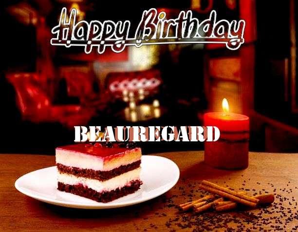 Happy Birthday Beauregard Cake Image