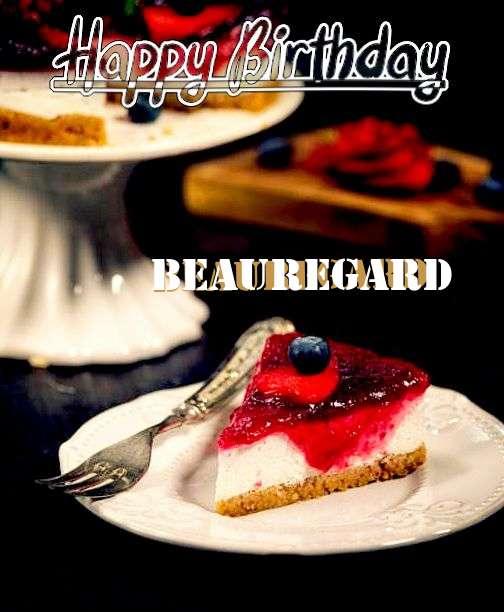 Happy Birthday Wishes for Beauregard