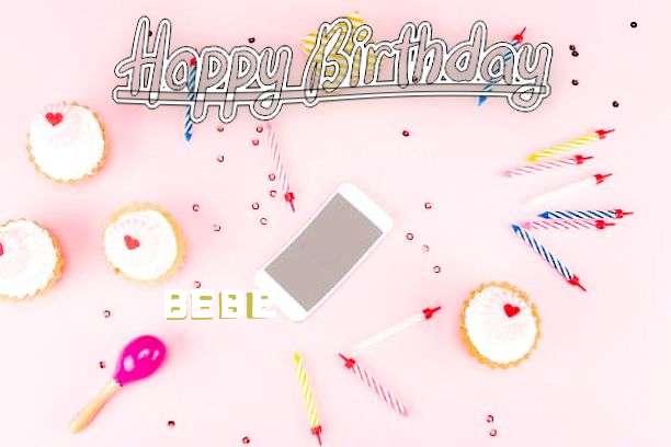 Happy Birthday Bebe