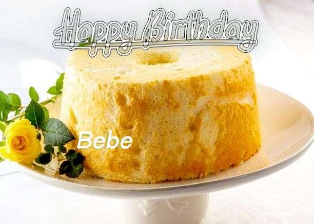 Happy Birthday Wishes for Bebe