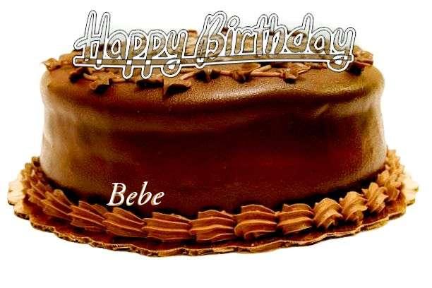 Happy Birthday to You Bebe
