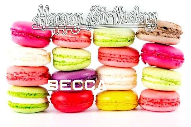Happy Birthday to You Becca