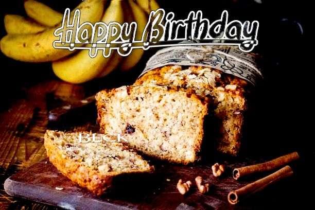 Happy Birthday Cake for Beck