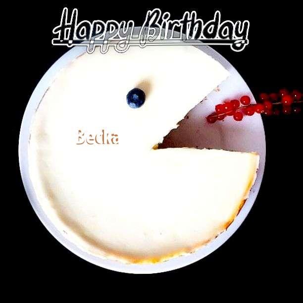 Happy Birthday Becka