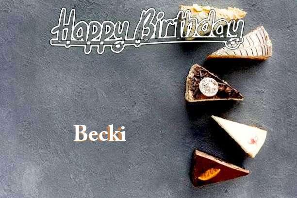 Becki Cakes