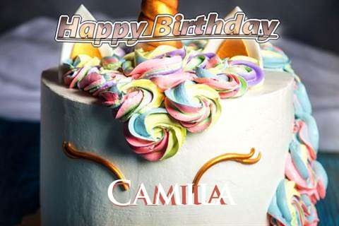 Birthday Wishes with Images of Camila