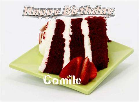 Birthday Wishes with Images of Camile