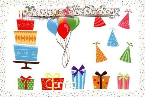Happy Birthday Wishes for Camilia